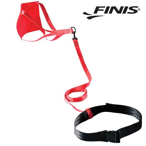 FINIS 낙하산 코드(RED)(8inch) 피니스 훈련용품