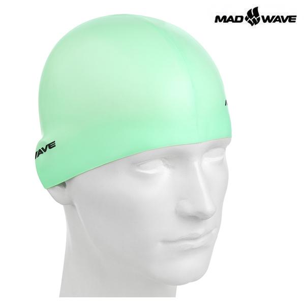 PASTEL-GREEN 매드웨이브 MAD WAVE 실리콘 수모 수영모