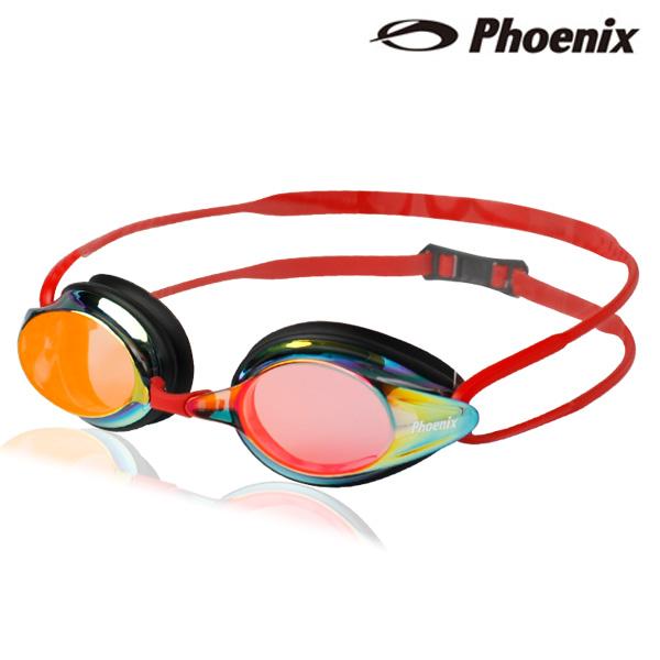 PN-1000M(RD) 피닉스 패킹 미러렌즈 수경
