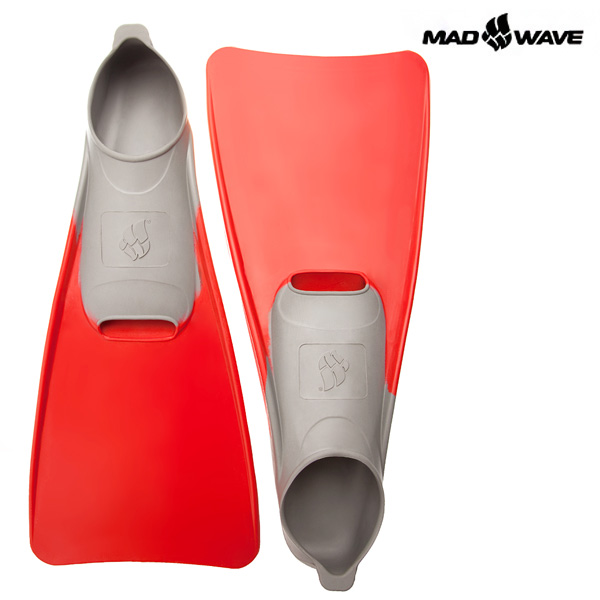 POOL COLOUR LONG(RED)(38-39) MAD WAVE 오리발
