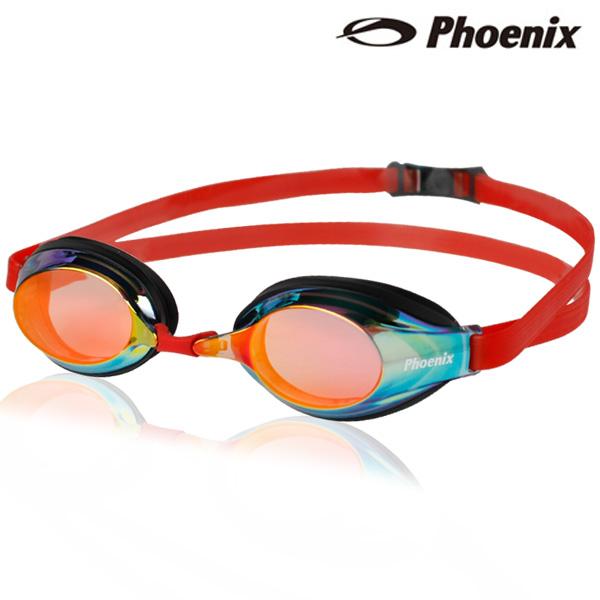 PR-1M(RD) 피닉스 패킹 미러렌즈 수경