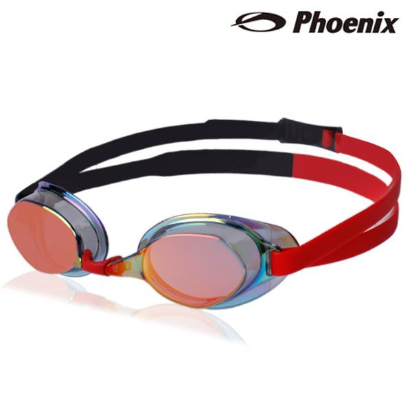 PR-201M TT(RD) 피닉스 노패킹 미러렌즈 수경