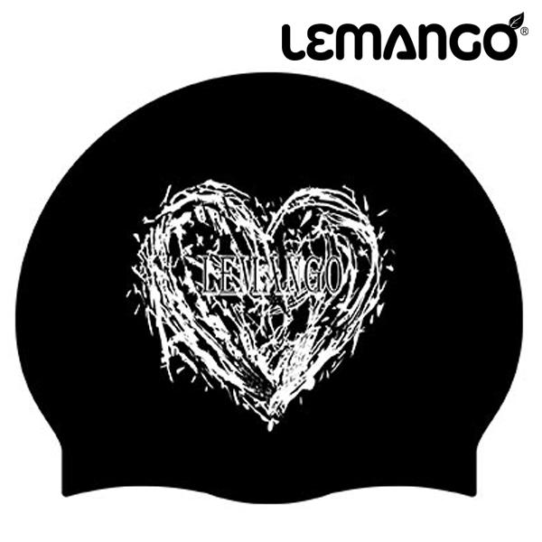 LSSC0011-BLACK 르망고 Heart 실리콘 수모