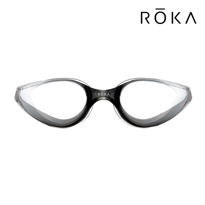 R1 Mirror-GREY ROKA 패킹 미러 오픈워터 수경