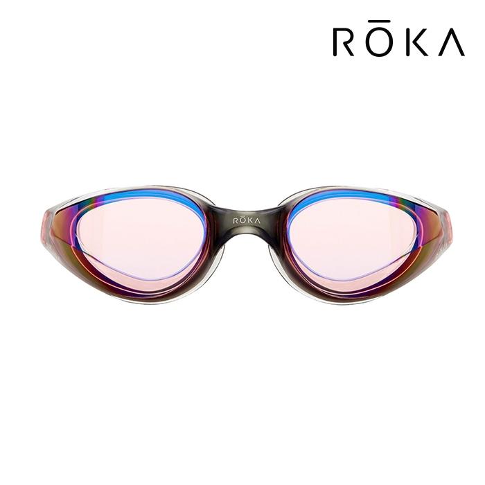 R1 Mirror-VERMILION ROKA 패킹 미러 오픈워터 수경