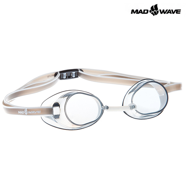 RACER SW(GREY) MAD WAVE 선수용 노패킹 노미러 수경
