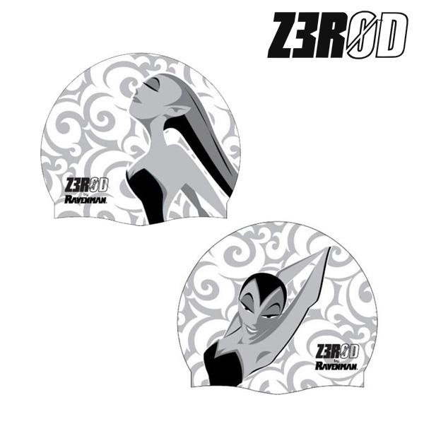 제로드 레이븐맨 머메이드 실리콘 스윔 캡 ZEROD RAVENMAN MERMAID SWIM CAP