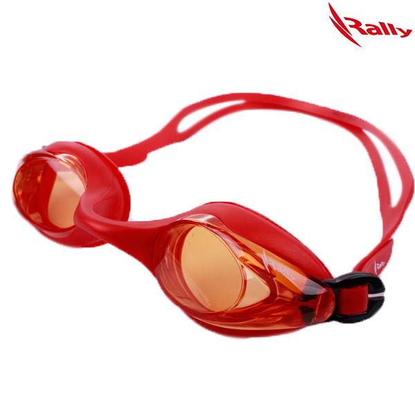 RE414-ORANGE 랠리 RALLY 패킹 수경 수영용품