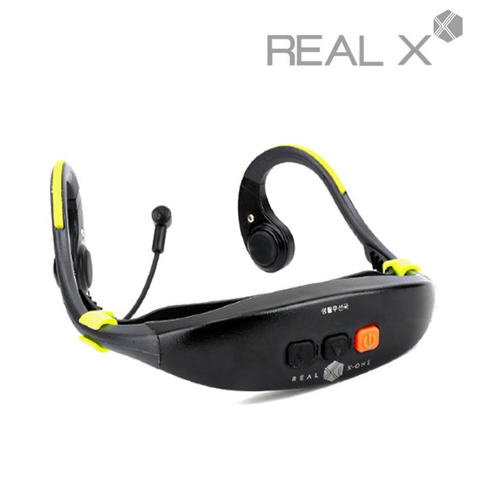 REAL X1 A40H 워키토키 헤드셋