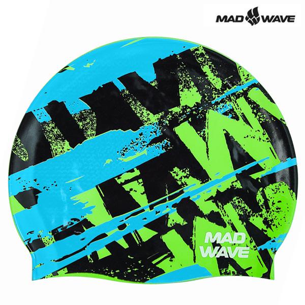 ROY-AZURE MAD WAVE 실리콘 수모 수영모