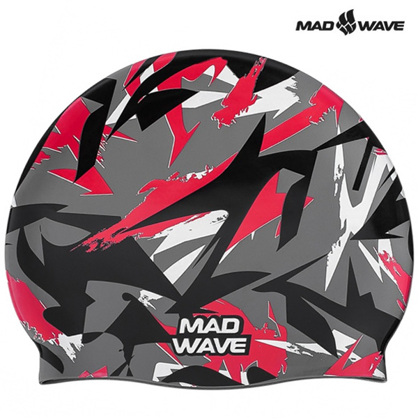 SANFORD-RED MAD WAVE 실리콘 수모 수영모