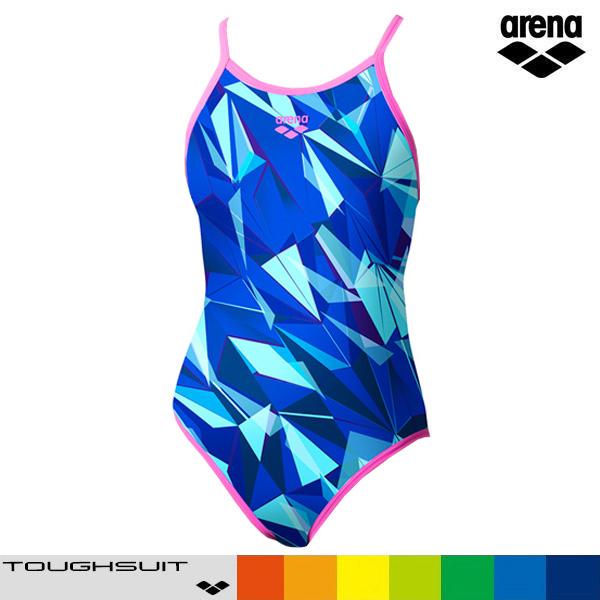 아레나 SAR-0112W-BLU 탄탄이 원피스 수영복