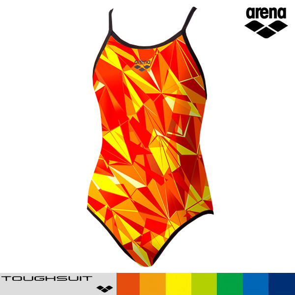 아레나 SAR-0112W-RED 탄탄이 원피스 수영복