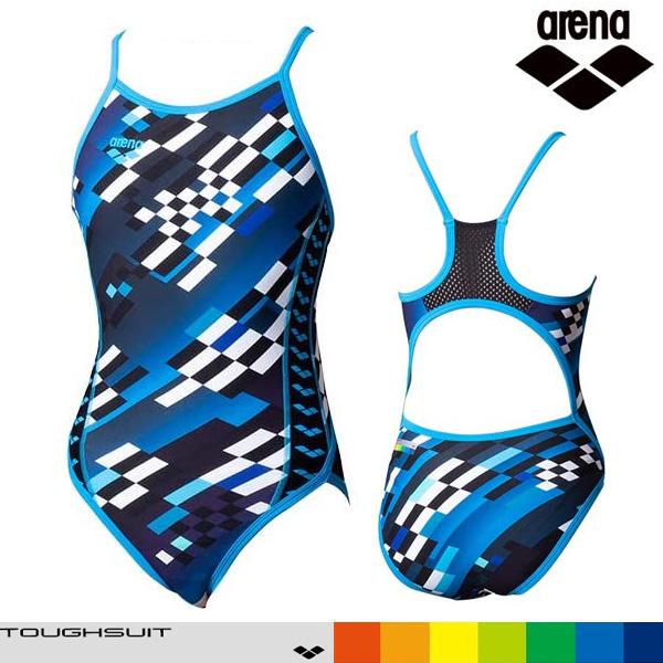 SAR-0122W-BLU 아레나 탄탄이 원피스 수영복
