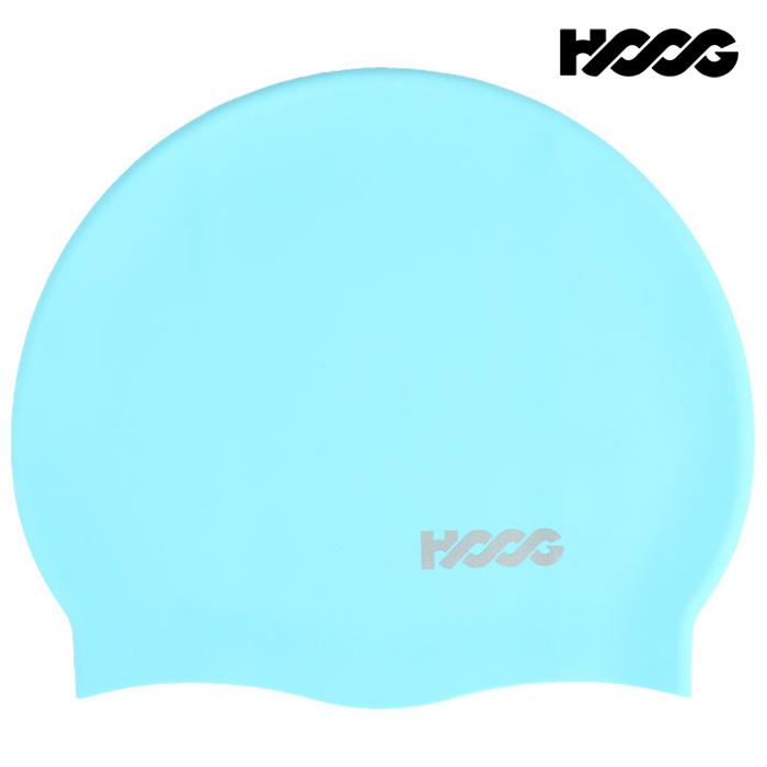 후그 SC158-SKY BLUE 플레인 실리콘수모