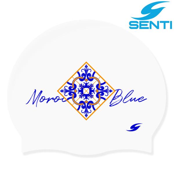 센티 SC-2151 모로칸블루-WHITE 실리콘 수모