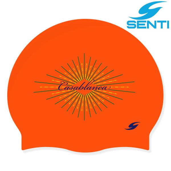 센티 SC-2154 카사블랑카-ORANGE 실리콘 수모