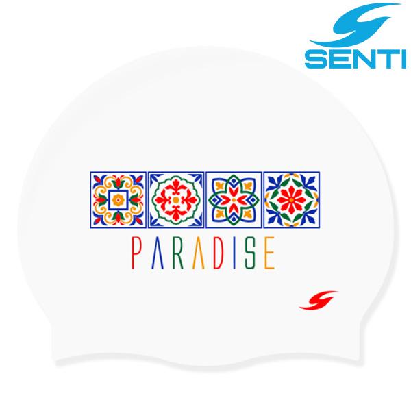 센티 SC-2155 파라다이스-WHITE 실리콘 수모