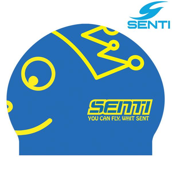센티 SC-507 크라운보이-BLUE 실리콘 수모