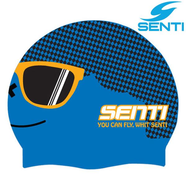 센티 SC-521 멋쟁이(남)-BLUE 실리콘 수모