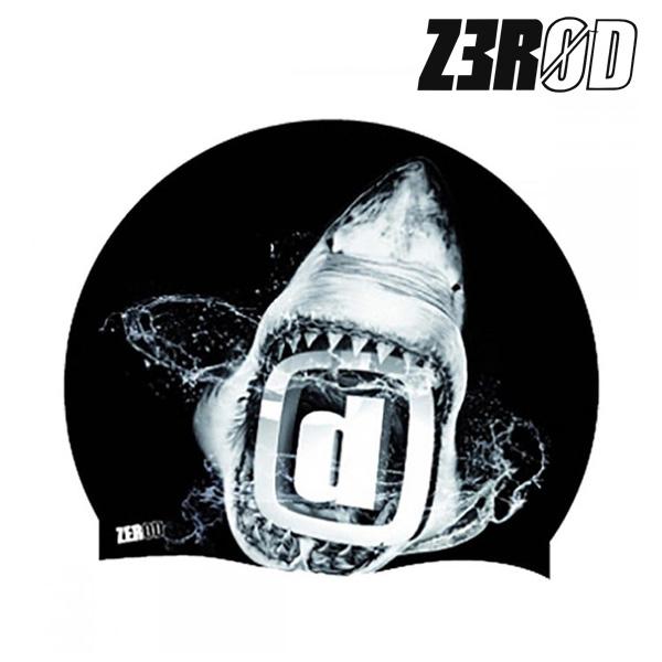 제로드 상어 투구형 실리콘 스윔 캡 ZEROD SEAMLESS SHARK SWIM CAP