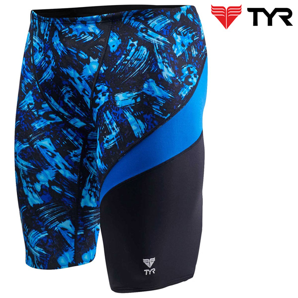 SEU7A 420(BLUE) TYR 티어 탄탄이 5부 수영복