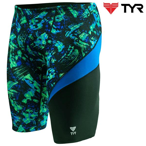 SEU7A 487(BLUE/GREEN) TYR 티어 탄탄이 5부 수영복