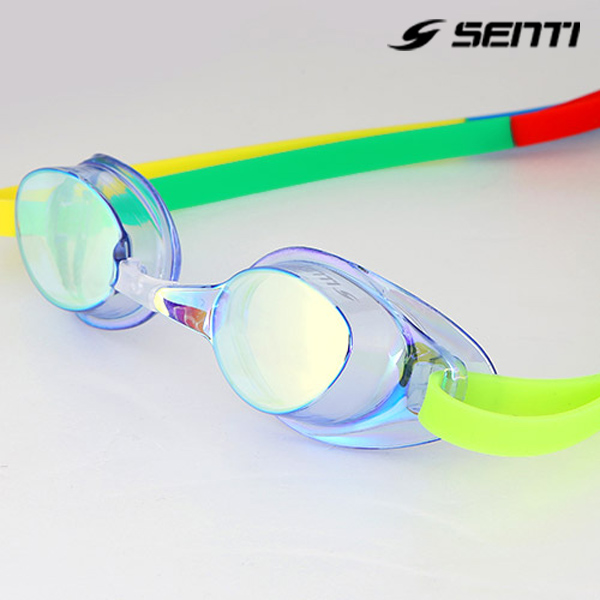 센티 SG-502MR 미러코팅 노패킹 수경-BLSK