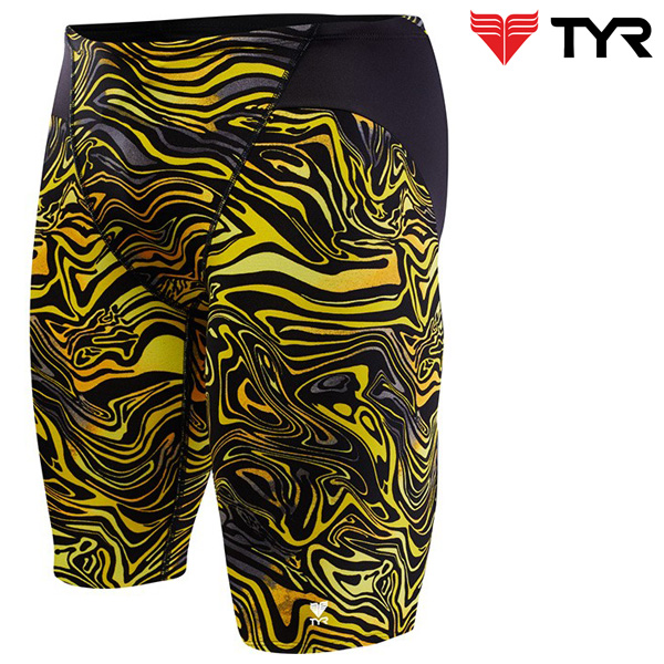 SHW7A 008(BLACK GOLD) TYR 티어 탄탄이 5부 수영복