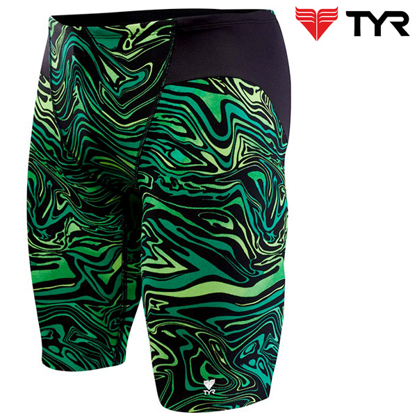 SHW7A 310(GREEN) TYR 티어 탄탄이 5부 수영복