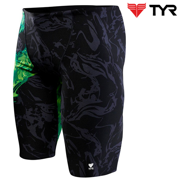 SIG7A 310(GREEN) TYR 티어 탄탄이 5부 수영복