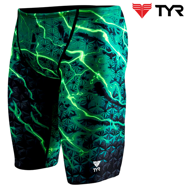 SLL7A 310(GREEN) TYR 티어 탄탄이 5부 수영복