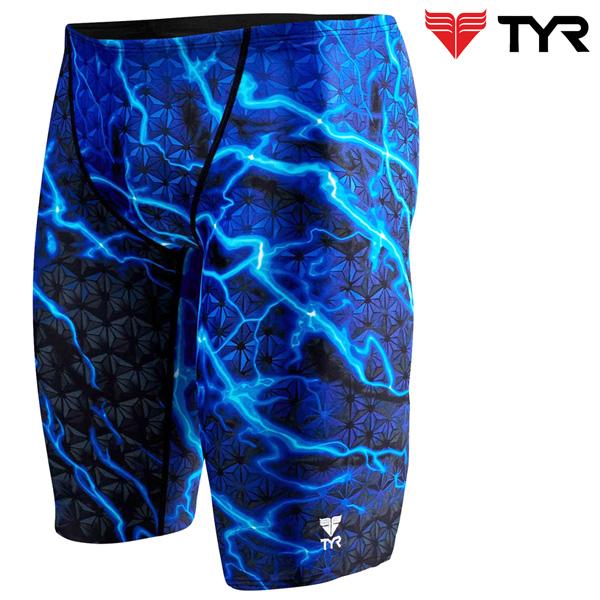 SLL7A 420(BLUE) TYR 티어 탄탄이 5부 수영복