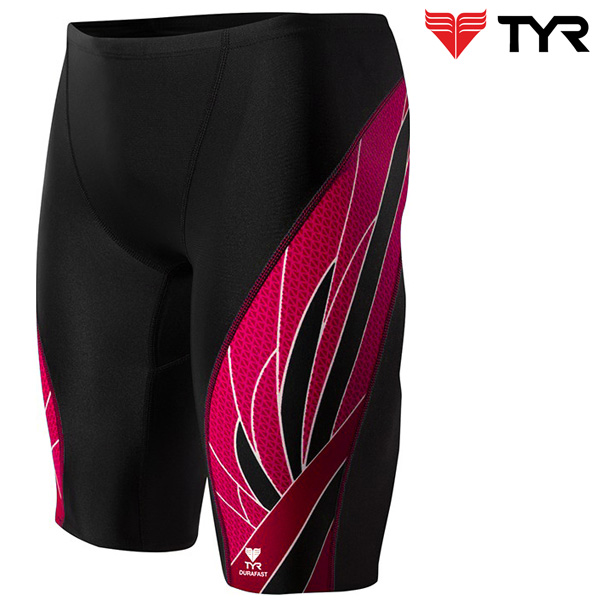 SPX7A 002(BLACK RED) TYR 티어 탄탄이 5부 수영복
