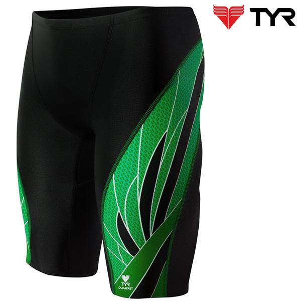 SPX7A 014(BLACK GREEN) TYR 티어 탄탄이 5부 수영복