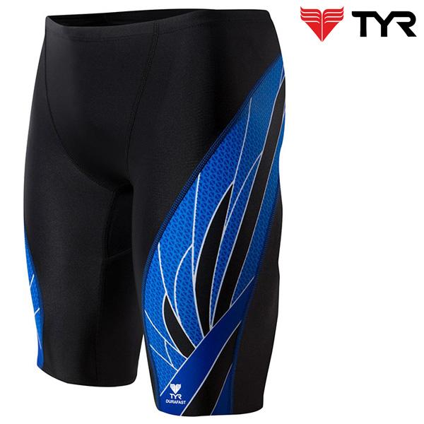 SPX7A 093(BLACK BLUE) TYR 티어 탄탄이 5부 수영복