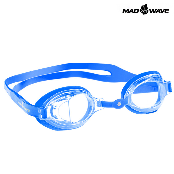 STALKER JUNIOR(BLUE) MAD WAVE 패킹 노미러 수경 주니어