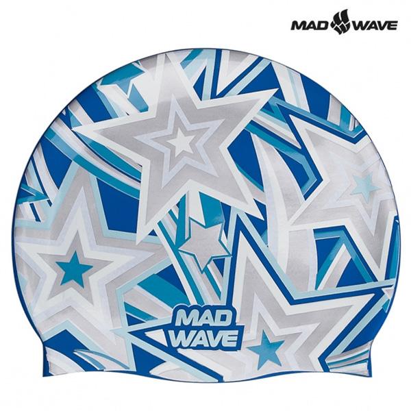 STELLA-GREY MAD WAVE 실리콘 수모 수영모