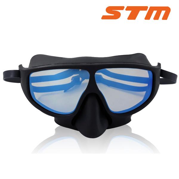 STM 핀수영 마스크 BLUE