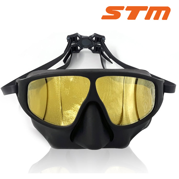 STM 핀수영 마스크 GOLD