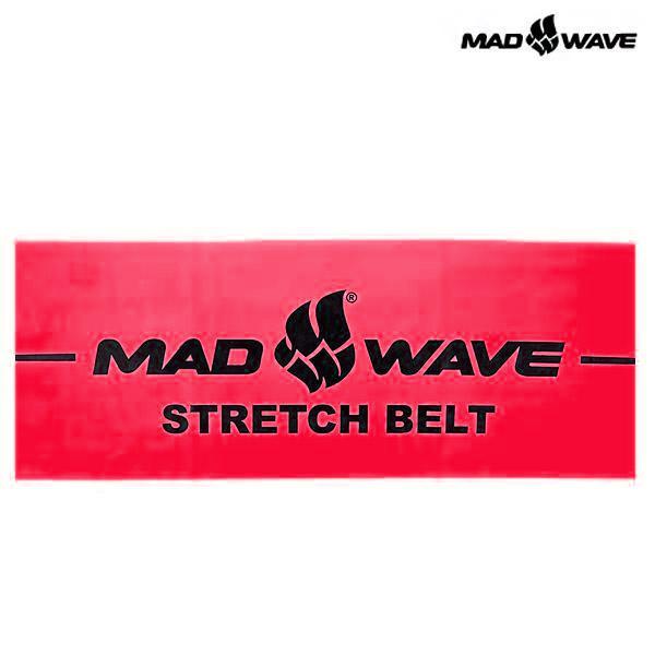 STRETCH BAND-RED 매드웨이브 MAD WAVE 훈련용품 밴드