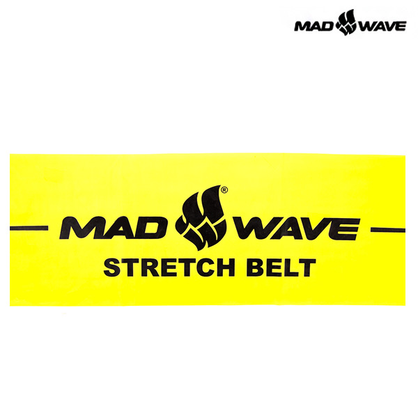 STRETCH BAND(YELLOW) MAD WAVE 훈련용품 밴드