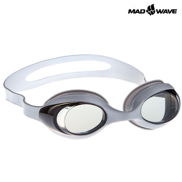 STRETCHY(SILVER) MAD WAVE 일반용 패킹 노미러 수경