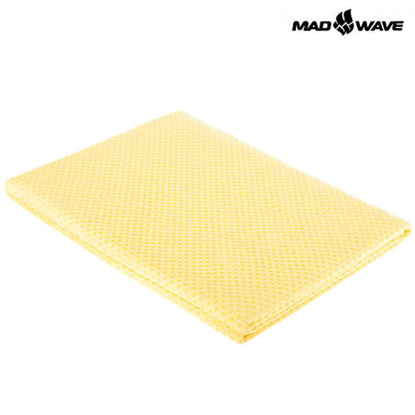 TOWEL SPORT(YELLOW) MAD WAVE 스포츠 타올