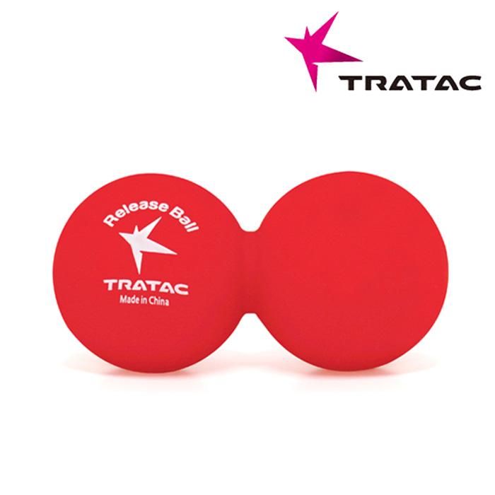 트라택 릴리즈볼 피넛형-프린트-RED