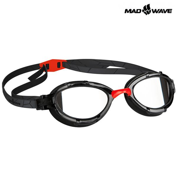 TRIATHLON MIRROR(RED) MAD WAVE 패킹 미러 철인3종 수경