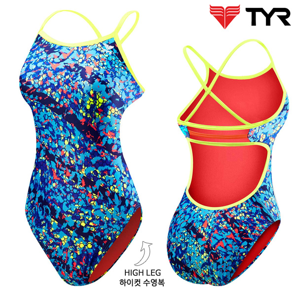 TTOC7A 420(BLUE) 티어 탄탄이 원피스 수영복