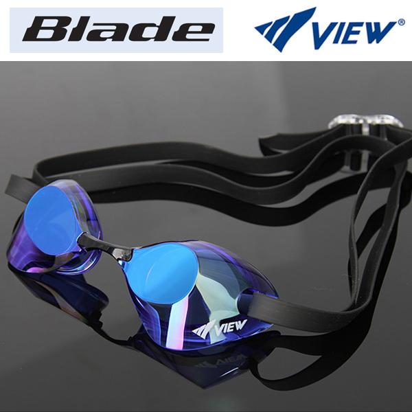 V121MR (CBLBL) VIEW 뷰 노패킹 미러렌즈 수경