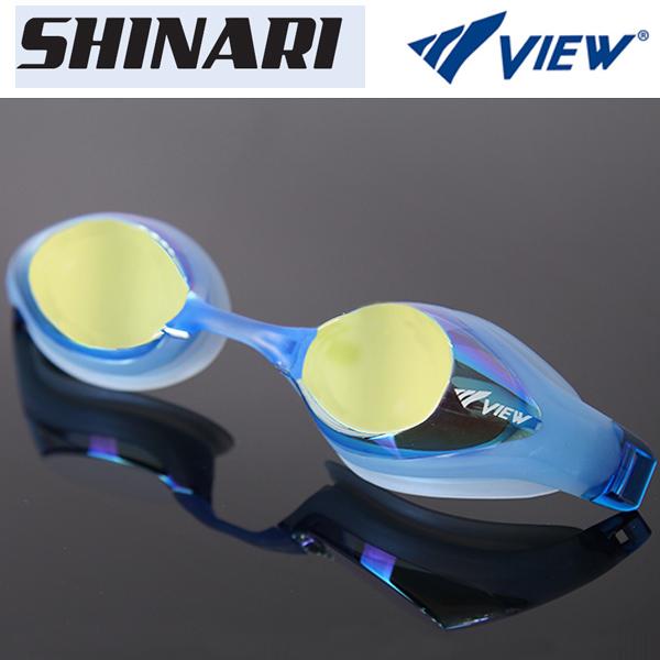 V132MR (BLY) VIEW 뷰 패킹 미러렌즈 수경