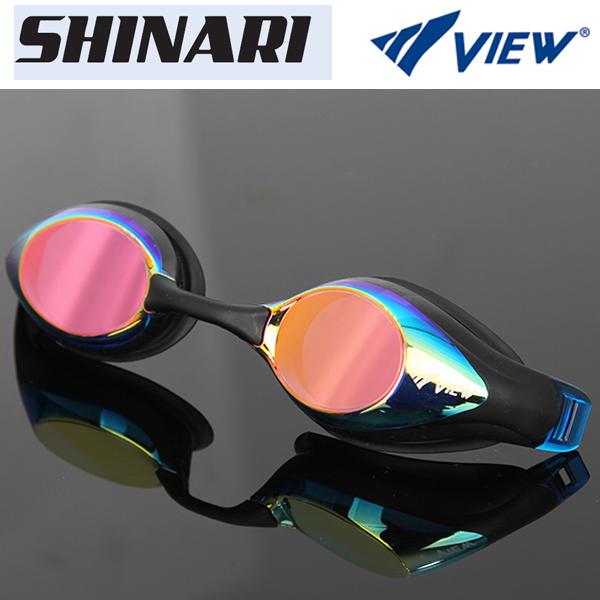 V132MR (GBLP) VIEW 뷰 패킹 미러렌즈 수경